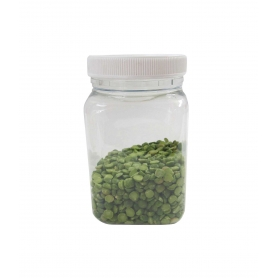 Plastic Jar 400ml Square