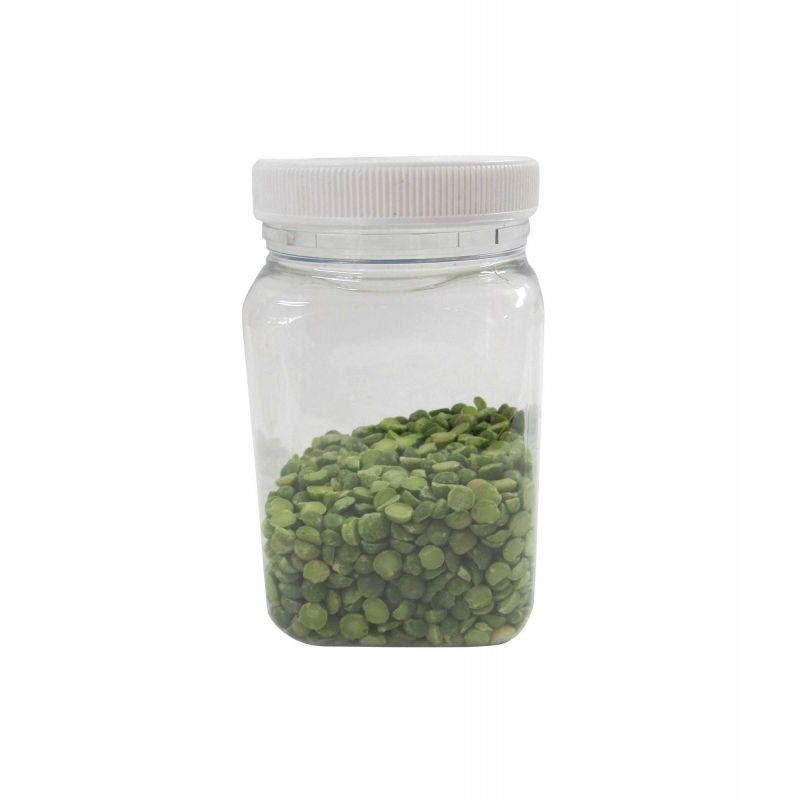 Plastic Jar 400ml Square
