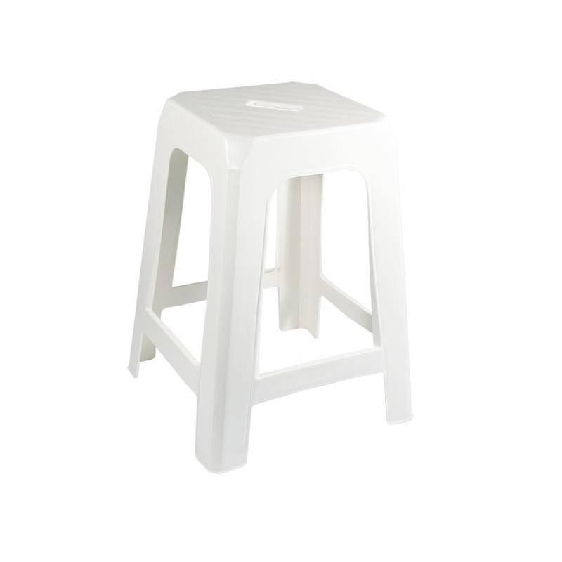 Taurus Stackable Stool White