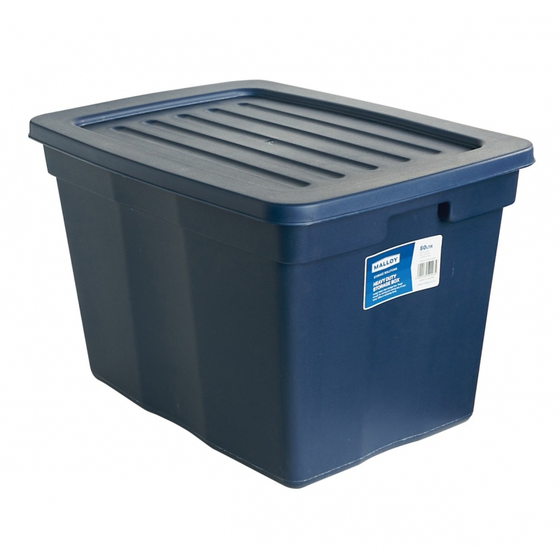 Malloy Storage Box 79l With Lid From Storage Box