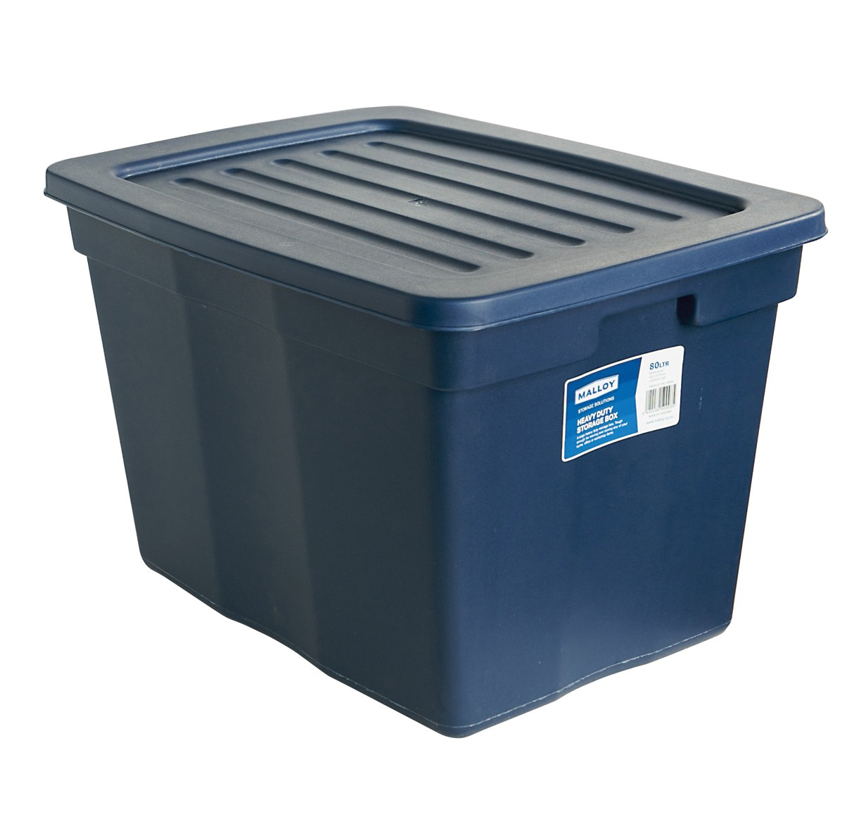 malloy storage box 79l with lid from storage box. Black Bedroom Furniture Sets. Home Design Ideas