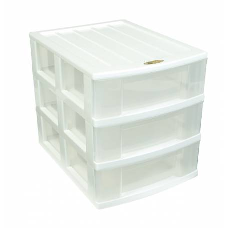 Taurus 3 Drawer Desktop Organiser