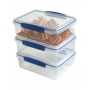 Sistema Klip It 3 Pack 2L Food Storer