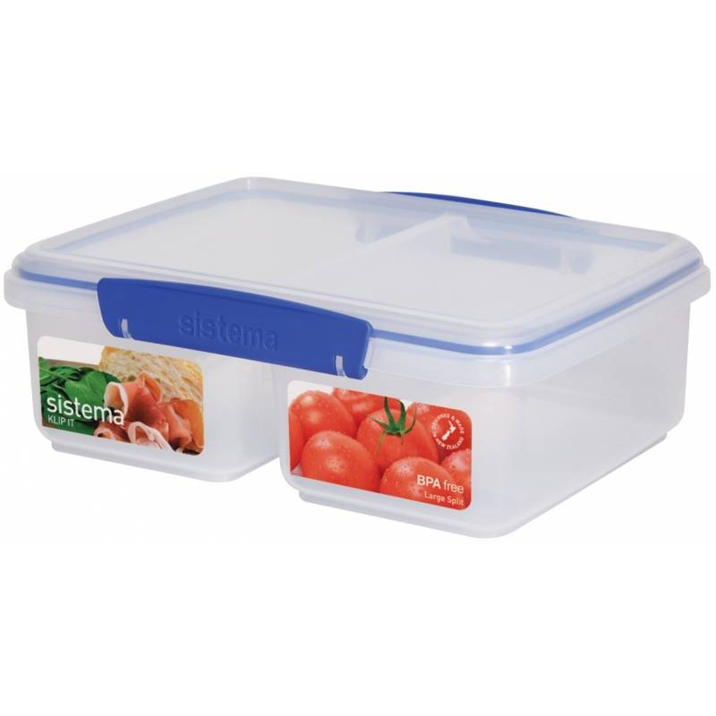 Sistema Klip It Split Food Storer 2L