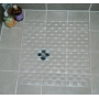 Clear PVC Shower Mat 52x52cm