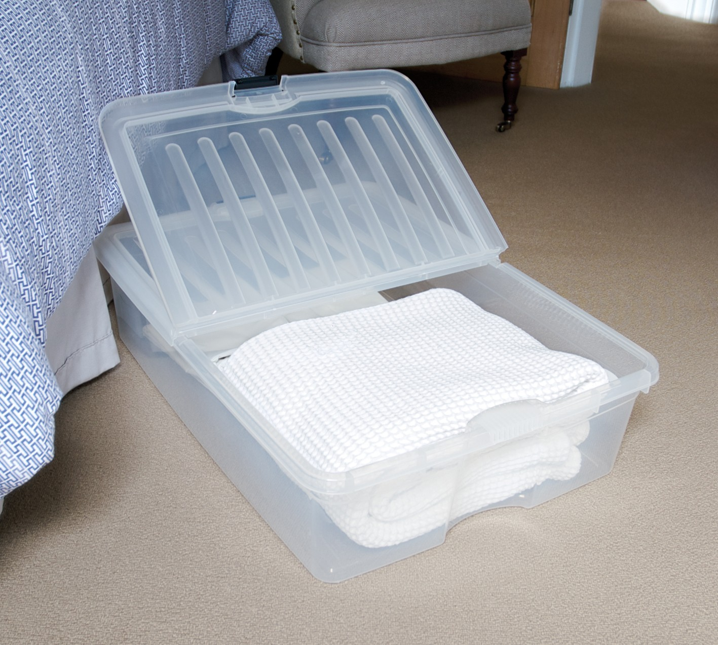 Taurus Underbed Storage Box 60l From Storage Box