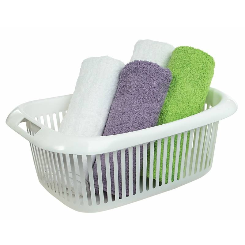 Perroplas Rossini Laundry Basket White