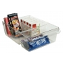 Linus Bin 3 Compartment Clear