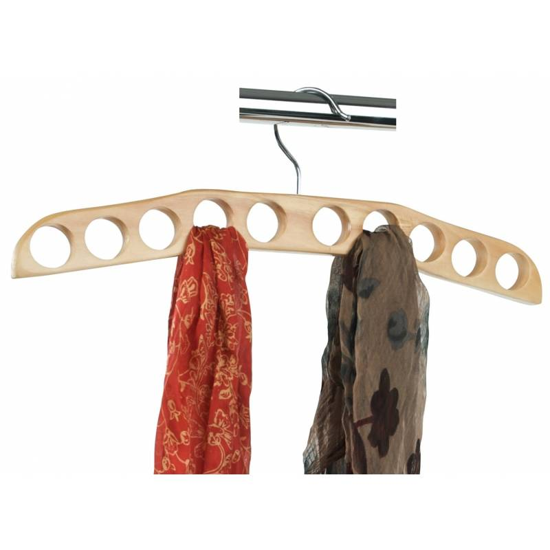 Scarf Hanger 10 Hole Wooden