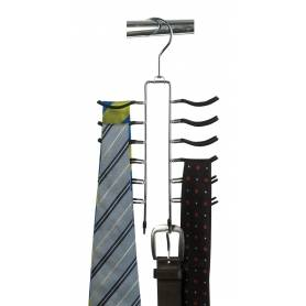 Belt and Tie Hanger 12 Tier