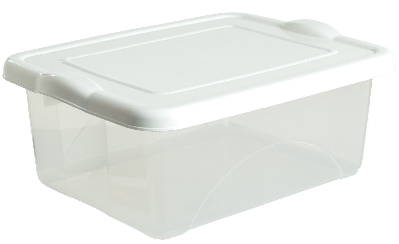 Taurus Box 20l With White Lid From Storage Box