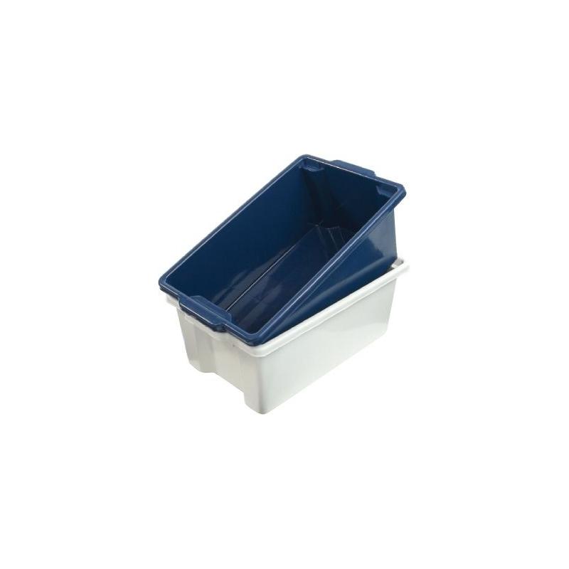 Malloy Fish Bin 52L Blue
