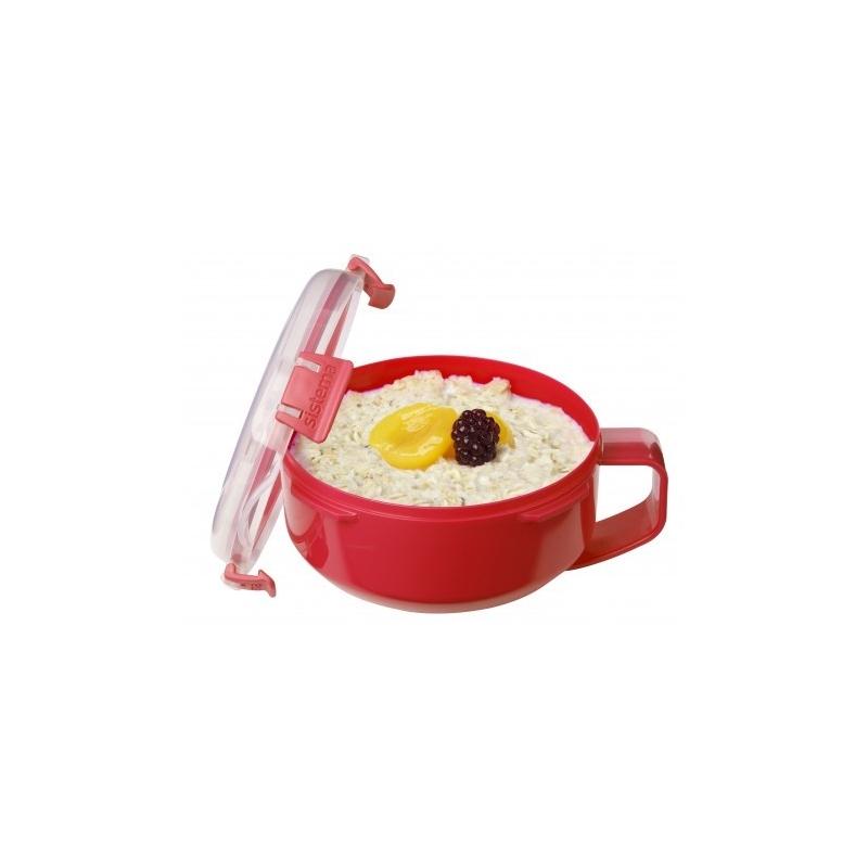 Sistema Microwave Breakfast Bowl From Storage Box