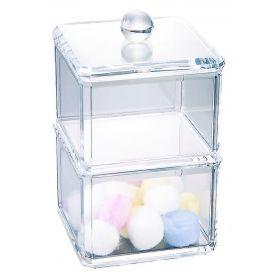 Glam Acrylic Stackable Cube Organiser