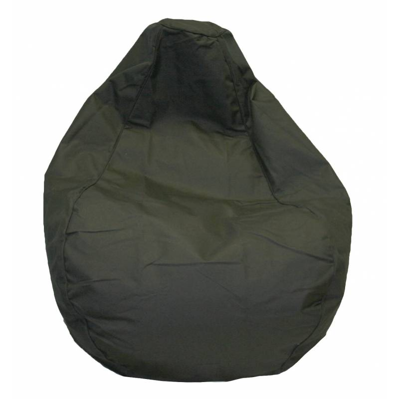 Bean Bag Canvas Premium Black