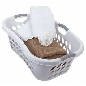 Sterilite Laundry Basket 44L White