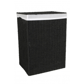 Pastiche Laundry Hamper Black Large