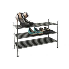 Whitmor Steel 3 Tier Shoe Rack