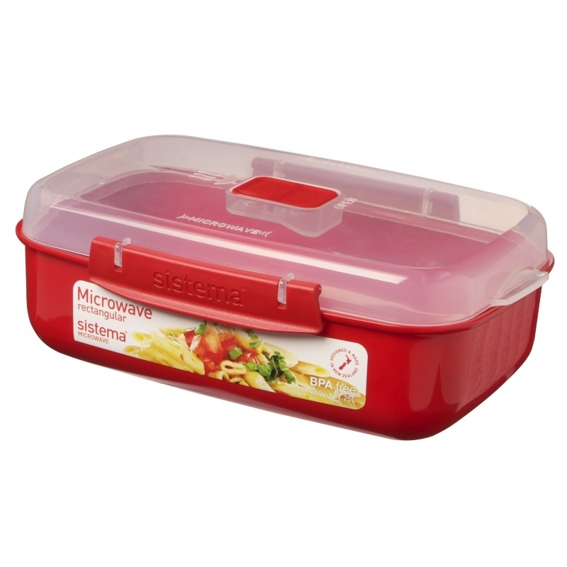 Sistema Microwave Container From Storage Box