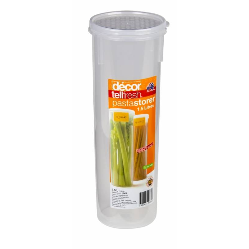 decor tellfresh 1.5L Pasta Storer Round Tall