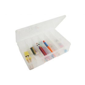 Fischer 6 compartment Deep Storage Box
