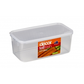 decor tellfresh 2L Food Storer Long