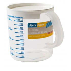 Decor Cook Measuring Jug 1L with Lid