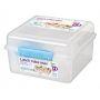 Sistema Lunch Box 2L with Yoghurt Pot
