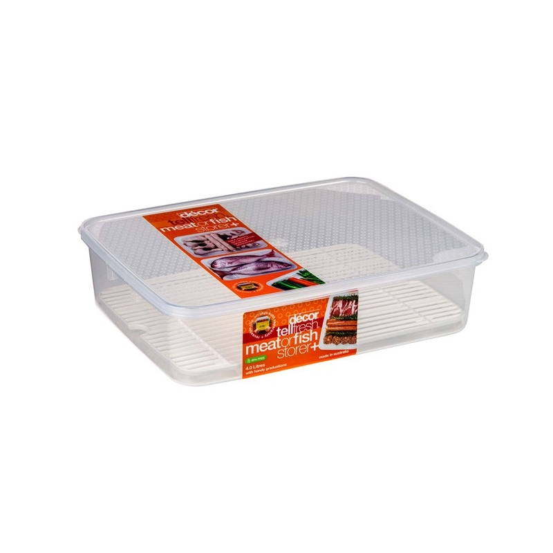 Tellfresh 4L Meat Storer with Rack