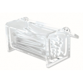 Glam Acrylic Cotton Bud Container