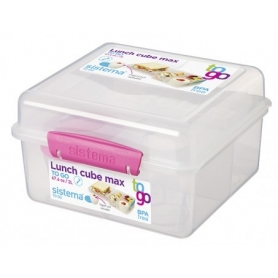 Sistema To Go Lunch Box 2L with Yoghurt Pot