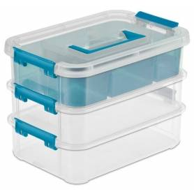 Sterilite Stack and Carry Box 3 Tier