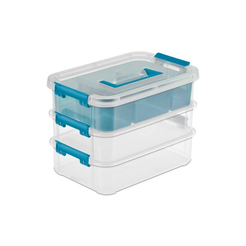 Sterilite Stack and Carry Box 2 Tier