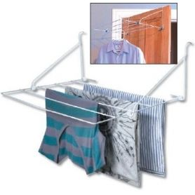 Clothes Airer 5 Rail Over Door