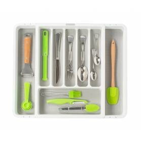 Madesmart Cutlery Tray 8 Compartments Expandable