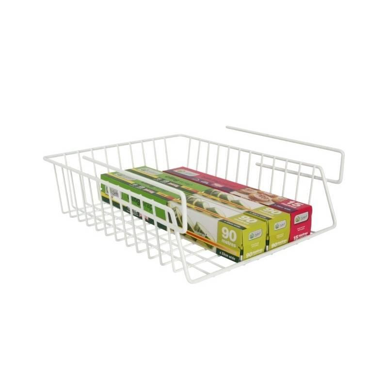 Wrap rack from storage box for Under shelf basket wrap rack