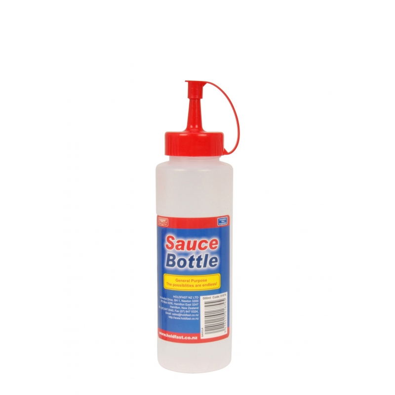 Sauce Bottle 500ml with Cap