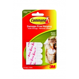 Command Poster Strips Small 12 Pack
