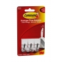 Command Wire Hooks Small 3 Pack