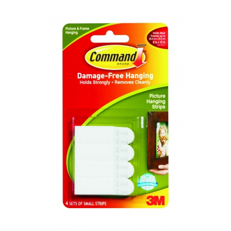Command Picture Hanging Strips Small 4 Pack