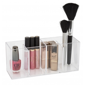 Glam Acrylic Organiser 4 Compartment