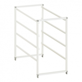 Elfa Drawer Frame X-Narrow 4 Runner White
