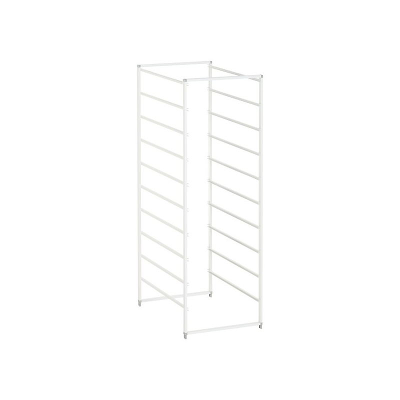 Elfa Drawer Frame Narrow 10 Runner White