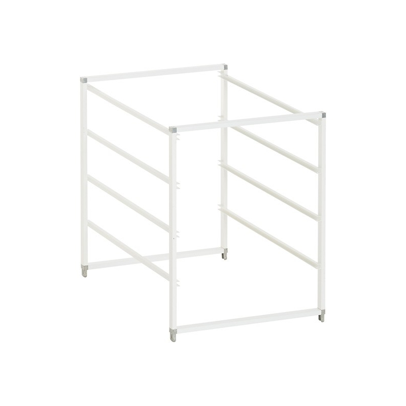 Elfa Drawer Frame Narrow 4 Runner White