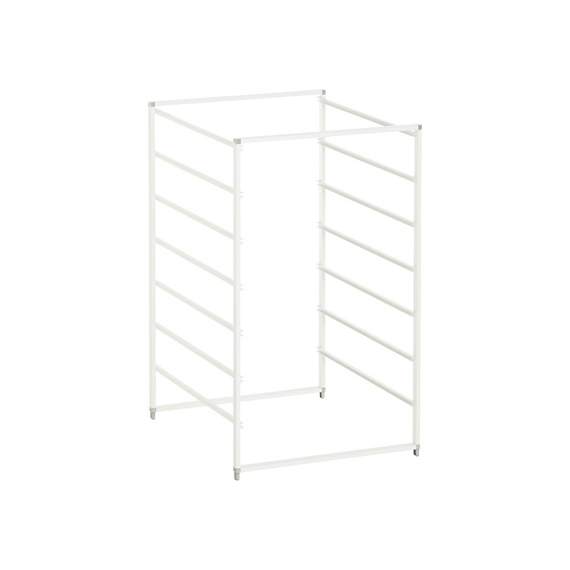 Elfa Drawer Frame Medium 7 Runner White