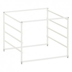 Elfa Drawer Frame Wide 4 Runner White