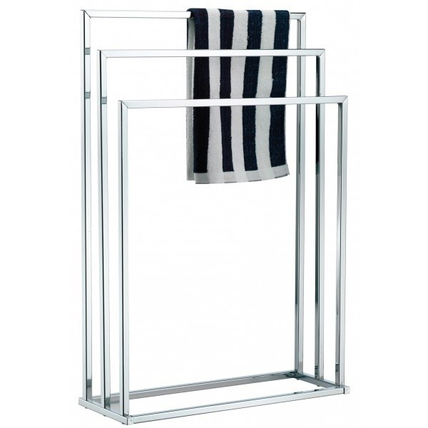 Towel Stand 3 Tier Chrome From Storage Box