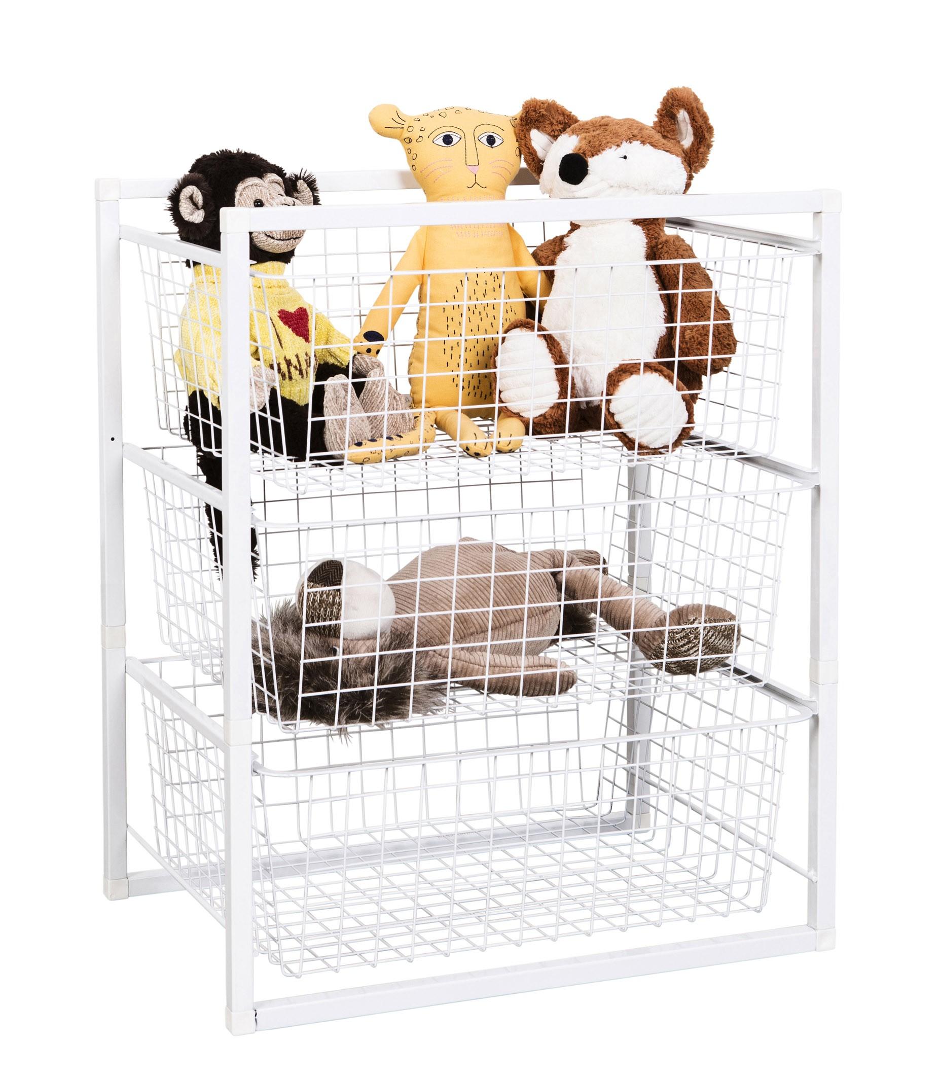 sc 1 st  Storage Box & Wire Basket Drawer Unit 3 Tier from Storage Box