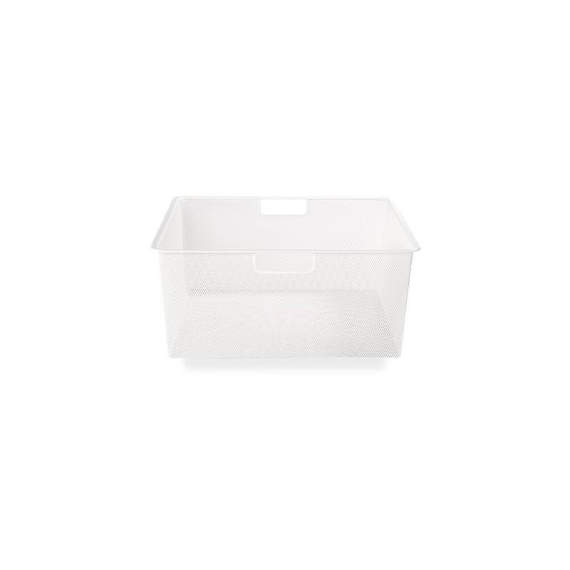 Elfa Mesh Drawer Medium 2 Runner White