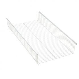 Elfa Shelf Basket 60x33 White